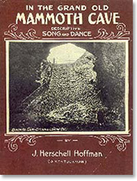 In the Grand Old Mammoth Cave - Sheet Music
