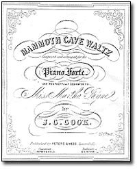 Sheet Music - Mammoth Cave Waltz