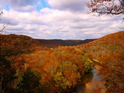 Fall view from the Green River Bluffs Trail