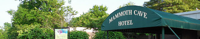 Mammoth Cave Hotel entrance
