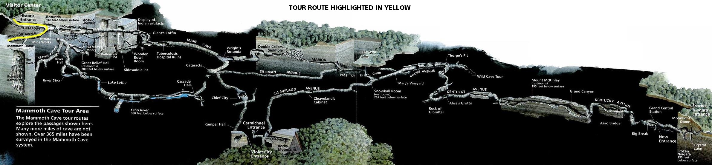 Mammoth Cave Tours Summer