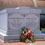The tomb of Dr. and Mrs. King