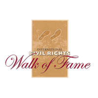 International Civil Rights Walk of Fame Logo