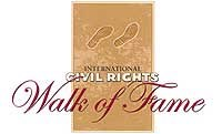 The International Civil Rights Walk of Fame logo