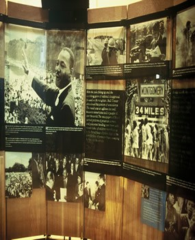 Courage to Lead exhibit
