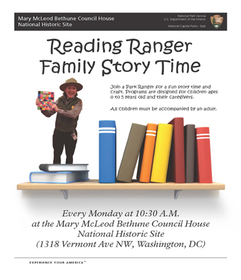 Family Story Time Flier