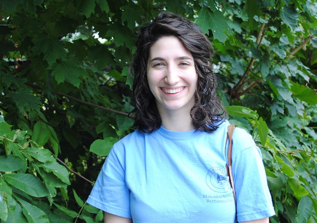 Jenn Cacciola during her residency.