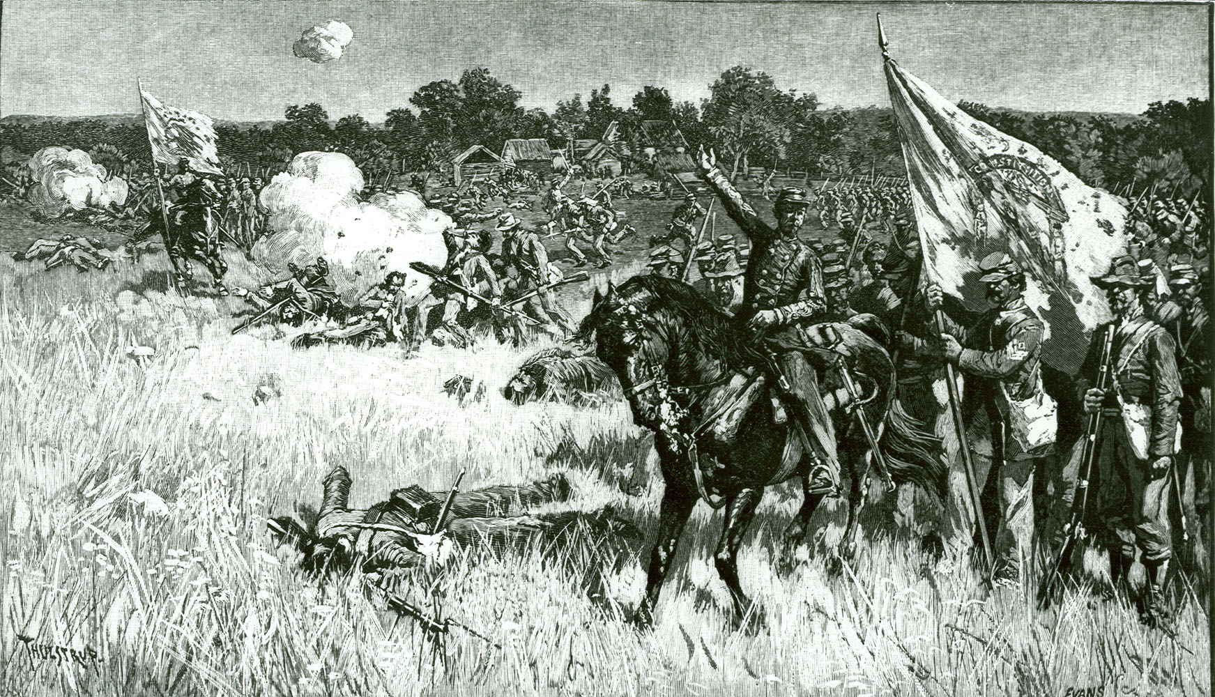 First bull run battle map