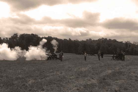 Artillery demonstration