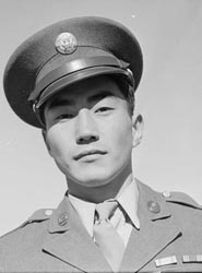 Soldier from Manzanar