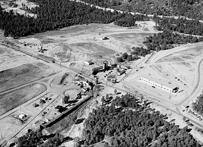 Gun Site at Los Alamos, New Mexico