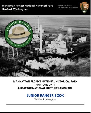 Hanford Unit Jr Ranger booklet