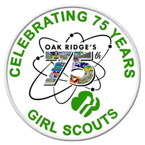 Girl Scout Oak Ridge 75th Patch