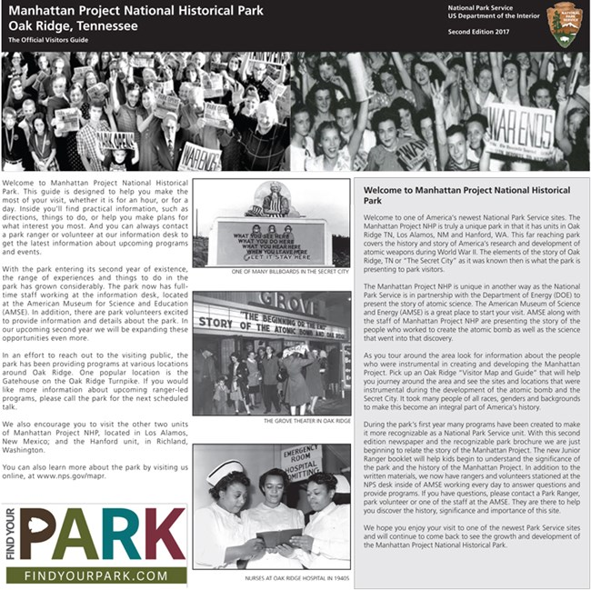 front page of 2nd edition of MAPR Oak Ridge newspaper