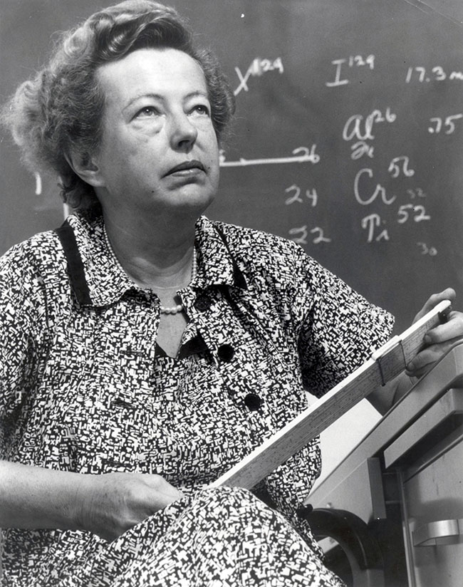 Maria Goeppert Mayer. Born June 28, 1906 in Kattowitz, German Empire. Naturalized March 13, 1933. Received Nobel Prize in 1963. Died February 20, 1972 in San Diego, California