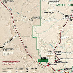 Maps Arches National Park US National Park Service
