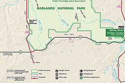 Maps Badlands National Park US National Park Service
