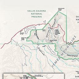 Maps Bandelier National Monument US National Park Service - Us national monuments map