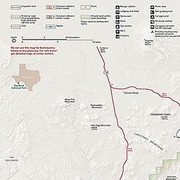 Maps Big Bend National Park US National Park Service - Big bend national park map us