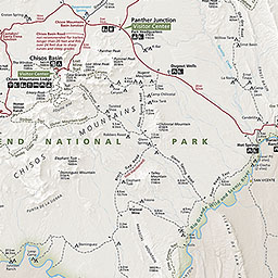 Maps Big Bend National Park US National Park Service - Us google rail map
