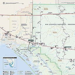 Ochopee Florida Map.Maps Big Cypress National Preserve U S National Park Service