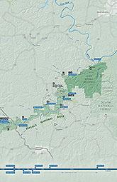 Maps Buffalo National River U S National Park Service