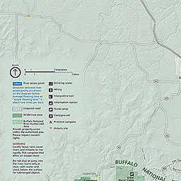 Maps Buffalo National River US National Park Service - Maps of arkansas