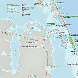 Maps Cape Hatteras National Seas