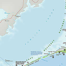 Disclaimer This Map Is A Graphical Representation Designed For General Reference Purposes Only General Beach Access Cape Hatteras Orv Map