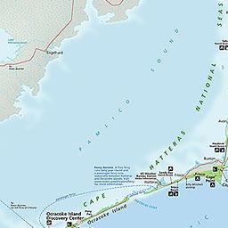 Maps Cape Hatteras National Seashore U S National Park Service