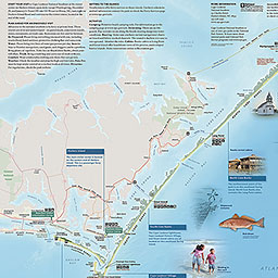 Maps Cape Lookout National Seashore US National Park Service - Portsmouth map of us
