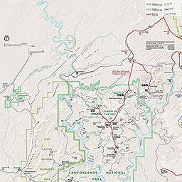 maps canyonlands national park u s national park service