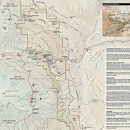 Maps Capitol Reef National Park US National Park Service - National parks us map
