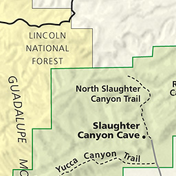 Maps Carlsbad Caverns National Park US National Park Service