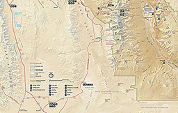 Disclaimer This Map Is A Graphical Representation Designed For General Reference Purposes Only Park Maps Death Valley