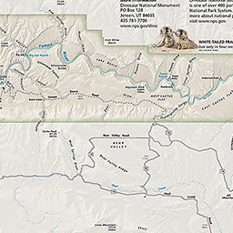 Maps Dinosaur National Monument U S National Park Service