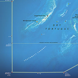 Maps Dry Tortugas National Park US National Park Service