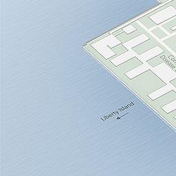Maps Ellis Island Part Of Statue Of Liberty National Monument - Ellis island on us map
