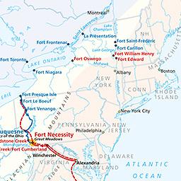 Maps Fort Necessity National Battlefield US National Park - Ft henry on us map