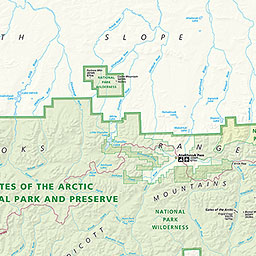 Maps Gates Of The Arctic National Park Preserve US National