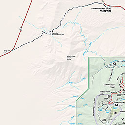 Maps Great Basin National Park US National Park Service - The great basin on us map