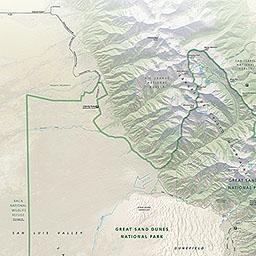 Maps Great Sand Dunes National Park Preserve US National