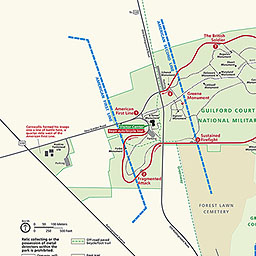 Maps - Guilford Courthouse National Military Park (U.S. ...