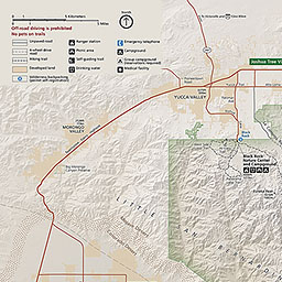 Twentynine Palms California Map.Maps Joshua Tree National Park U S National Park Service