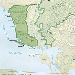 Maps Kobuk Valley National Park US National Park Service