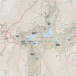 maps lake mead national recreation area u s national park service