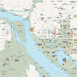 Maps - Lincoln Memorial (U.S. National Park Service)