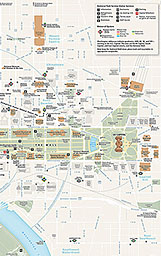 photograph regarding Printable Street Map of Washington Dc named Maps - Lincoln Memorial (U.S. Nationwide Park Assistance)