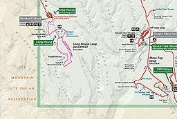 Maps Mesa Verde National Park U S National Park Service
