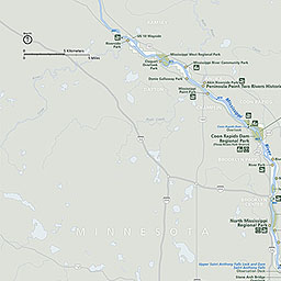 Maps Mississippi National River And Recreation Area US - Us map mississippi river